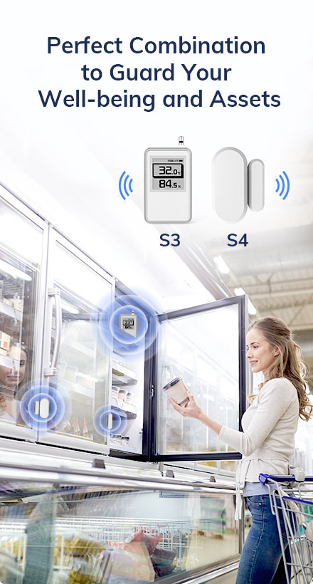 S4 Door Sensor Guard Your Well-being and Assets